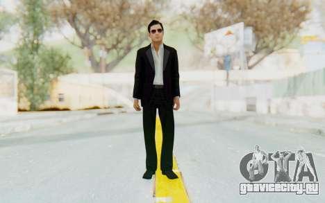 Mafia 2 - Vito Scaletta Madman Suit B&W для GTA San Andreas второй скриншот