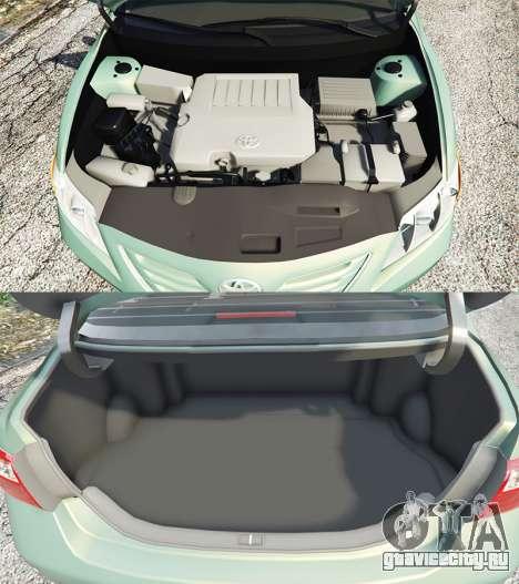 Toyota Camry V40 2008 [tuning] для GTA 5 вид справа