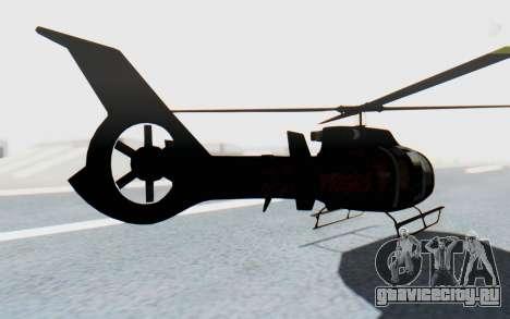 GTA 5 Maibatsu Frogger Trevor IVF для GTA San Andreas вид слева