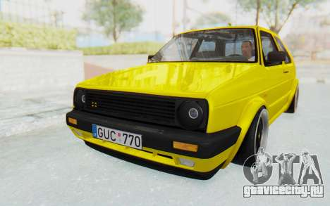 Volkswagen Golf Mk2 Lemon для GTA San Andreas