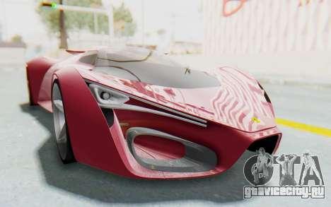 Ferrari F80 Concept для GTA San Andreas вид справа