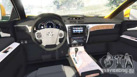 Toyota Camry V50 для GTA 5