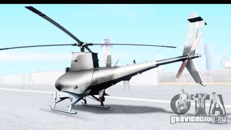 Northrop Grumman MQ-8B Fire Scout для GTA San Andreas вид слева