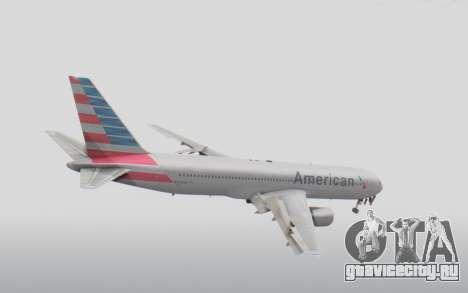 Boeing 767-300ER American Airlines для GTA San Andreas вид справа