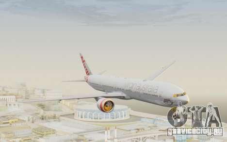 Boeing 777-300ER Virgin Australia v2 для GTA San Andreas