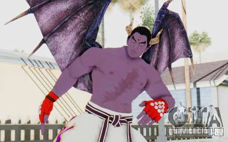 Devil Kazuya для GTA San Andreas