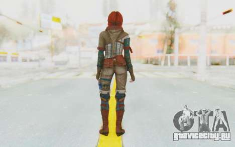 The Witcher 3 - Triss Merigold WildHunt Outfit для GTA San Andreas третий скриншот
