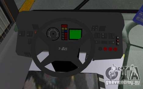 MAN Lion City 23267 для GTA San Andreas вид изнутри