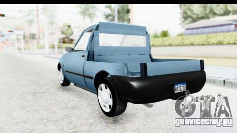 Ford Courier 2016 для GTA San Andreas вид сзади слева