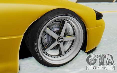 Mitsubishi 3000GT 1999 для GTA San Andreas вид сзади слева
