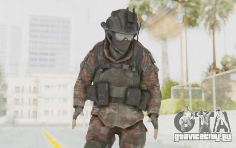 COD MW2 Russian Paratrooper v1 для GTA San Andreas