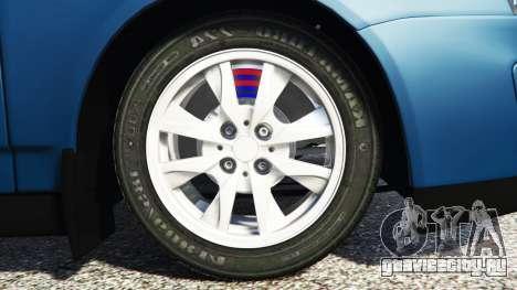 Lada Priora Sport Coupe v0.1 для GTA 5 вид сзади справа