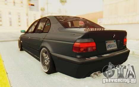 BMW M5 E39 M-Tech USDM для GTA San Andreas вид слева