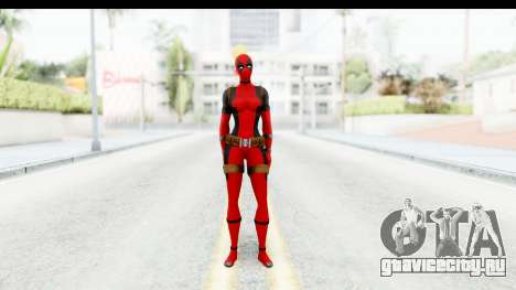 Marvel Heroes - Lady Deadpool для GTA San Andreas второй скриншот