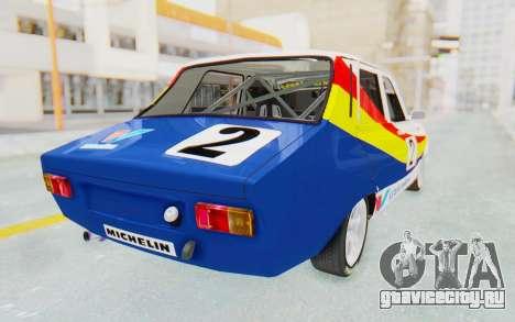 Dacia 1300 Rally для GTA San Andreas вид слева