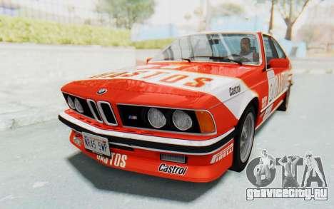 BMW M635 CSi (E24) 1984 IVF PJ3 для GTA San Andreas двигатель