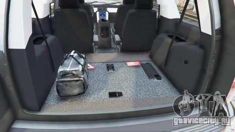 Chevrolet Tahoe для GTA 5 руль и приборная панель