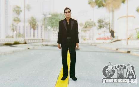 Mafia 2 - Vito Scaletta Madman Suit Black для GTA San Andreas второй скриншот