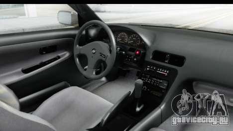 Nissan 240SX 1994 v2 для GTA San Andreas вид изнутри