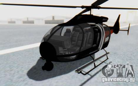 GTA 5 Maibatsu Frogger Trevor IVF для GTA San Andreas вид справа