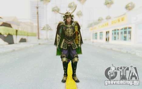 Sengoku Musou 4 - Date Masamune для GTA San Andreas второй скриншот