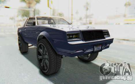 GTA 5 Willard Faction Custom Donk v3 IVF для GTA San Andreas вид справа