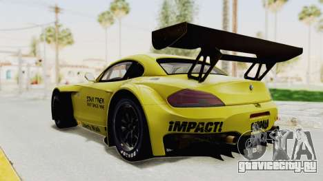 BMW Z4 Liberty Walk для GTA San Andreas вид слева
