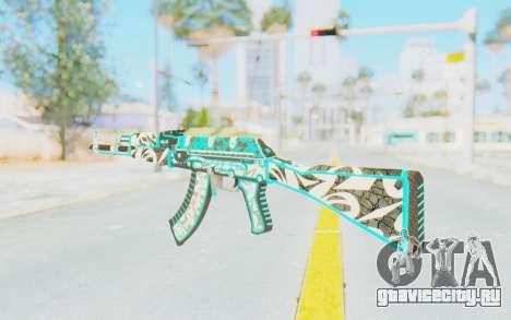 CS:GO - AK-47 Front Side Misty для GTA San Andreas второй скриншот