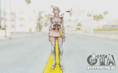 Dynasty Warriors 8 - Lu Lingqi v2 для GTA San Andreas второй скриншот