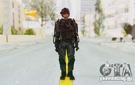 CoD Advanced Warfare ATLAS Soldier 1 для GTA San Andreas второй скриншот