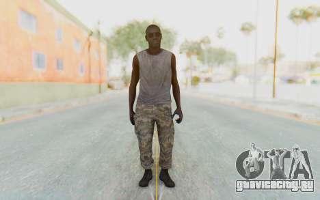 CoD MW3 Africa Militia v5 для GTA San Andreas второй скриншот