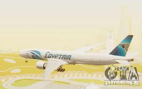 Boeing 777-300ER EgyptAir для GTA San Andreas вид справа