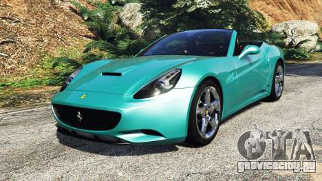 Ferrari California Autovista [add-on] для GTA 5