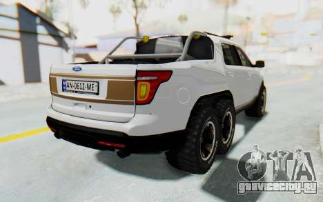 Ford Explorer Pickup для GTA San Andreas вид слева