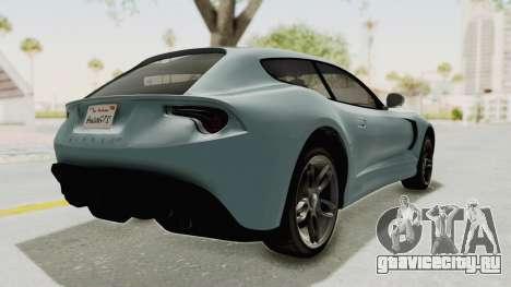 GTA 5 Grotti Bestia GTS v2 SA Lights для GTA San Andreas вид слева