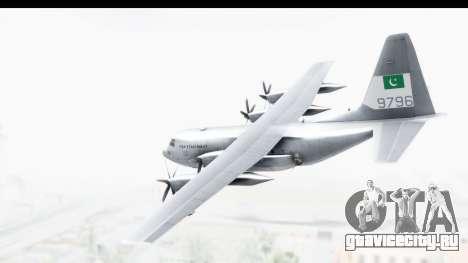 C-130 Pakistan для GTA San Andreas вид слева