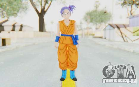 Dragon Ball Xenoverse Female Saiyan SJ для GTA San Andreas второй скриншот