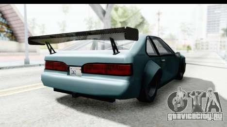 Fortune Korc для GTA San Andreas вид справа