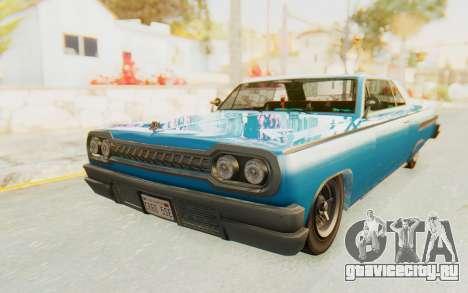 GTA 5 Declasse Voodoo PJ для GTA San Andreas