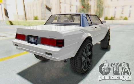 GTA 5 Willard Faction Custom Donk v2 для GTA San Andreas вид сзади слева