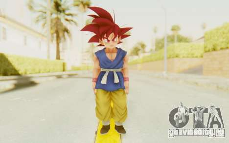 Dragon Ball Xenoverse Goku Kid GT SSG для GTA San Andreas второй скриншот