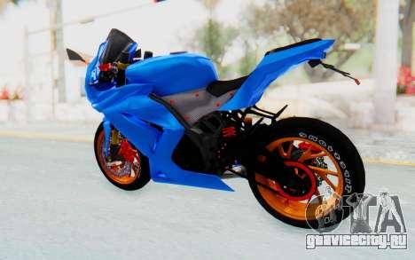 Kawasaki Ninja 250R Streetrace для GTA San Andreas вид слева