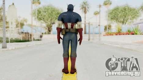 Captain America Super Soldier Classic для GTA San Andreas третий скриншот