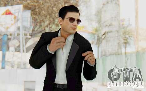 Mafia 2 - Vito Scaletta Madman Suit B&W для GTA San Andreas