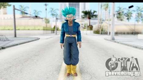 Dragon Ball Xenoverse Future Trunks SSGSS для GTA San Andreas второй скриншот