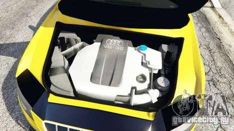Audi A4 2009 для GTA 5 вид справа