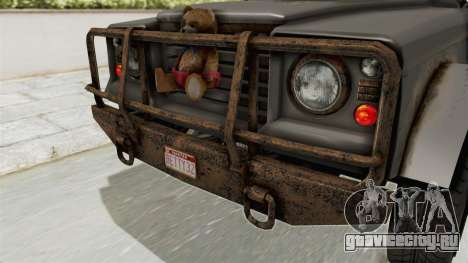 GTA 5 Canis Bodhi Trevor IVF для GTA San Andreas вид сбоку