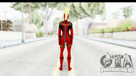 Marvel Heroes - Lady Deadpool для GTA San Andreas третий скриншот