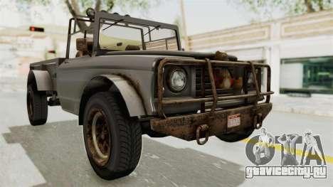 GTA 5 Canis Bodhi Trevor IVF для GTA San Andreas