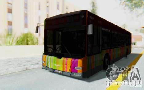MAN Lion City 23267 для GTA San Andreas вид сзади слева